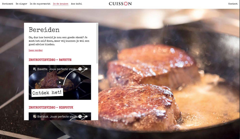 Cuisson - Bereiding