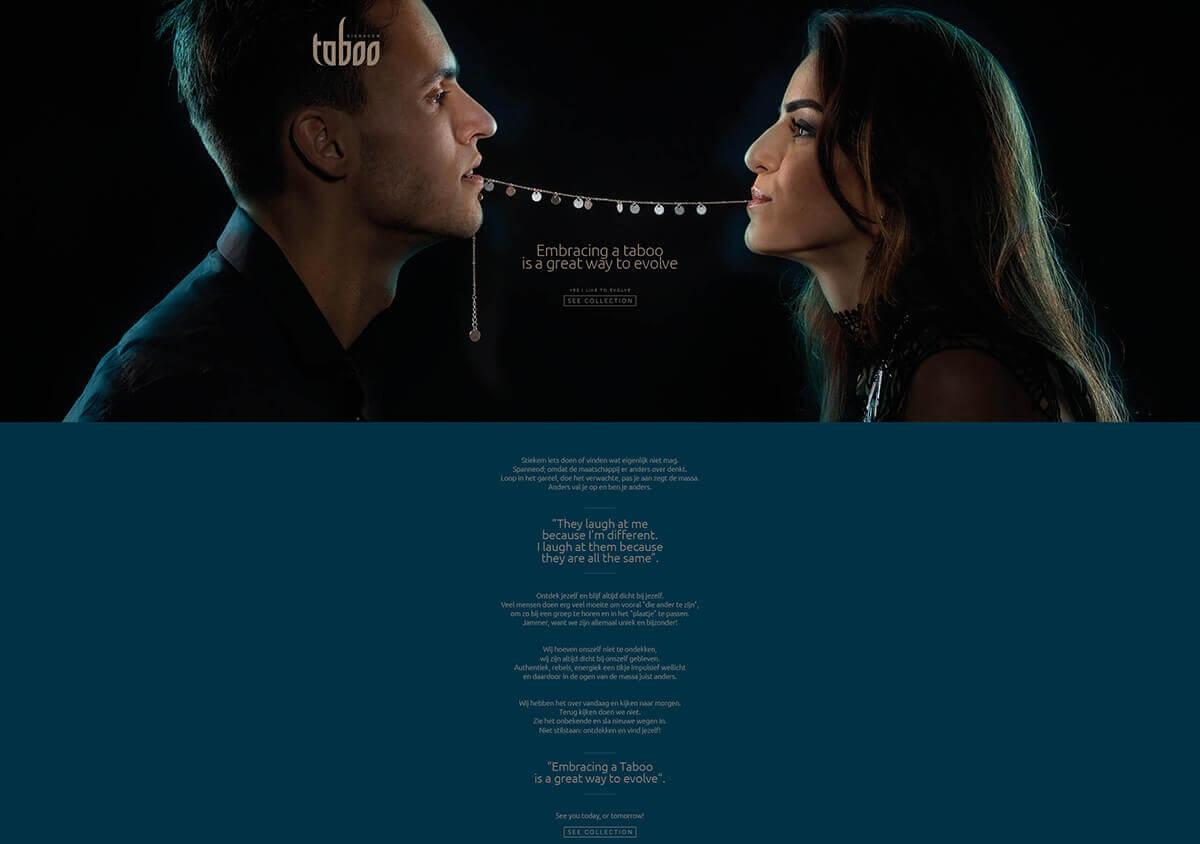 Taboo sieraden website