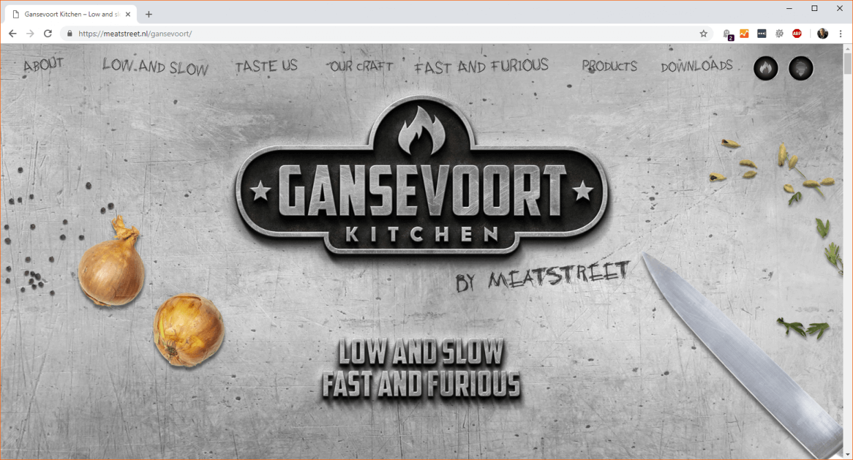 Gansevoort Kitchen Desktop