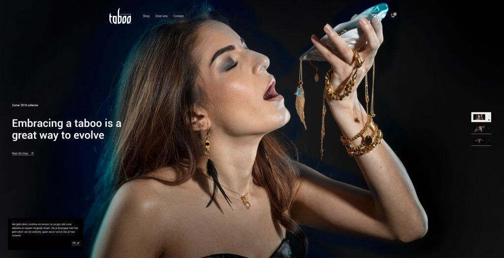 Homepagina van taboosieraden